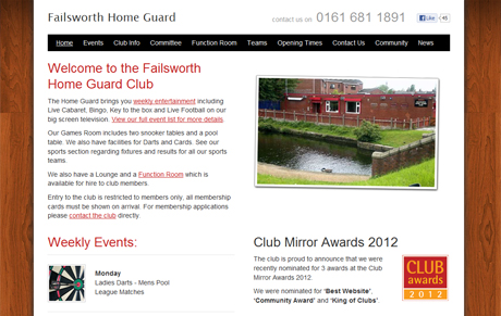 Home Guard Website